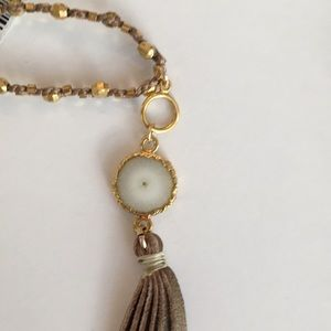 Chan Luu Jewelry - Chan Luu Long Tassel Pendant Necklace NWT